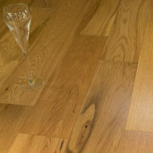 Svedska Smooth Lacquered Oak Engineered Wood Flooring 125 x 14/3mm
