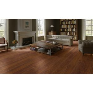 Quickstep Largo Natural Varnished Merbau Planks LPU3988 Laminate Flooring (9.5mm)