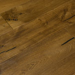 Glencoe Wide Plank Engineered Vintage Oak Wood Flooring 20/5mm x 190mm
