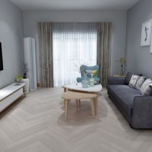 Balento Islands - Mariners Cove Herringbone - 6mm x 110mm x 620mm - Underlay Attached