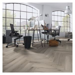 Kronoswiss Herringbone Laminate Flooring,  Chinon Oak - 8mm x 133mm x 665mm