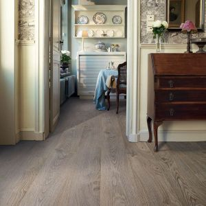 Quick-Step Elite Old Oak Light Grey Laminate Flooring UE1406 (8mm)