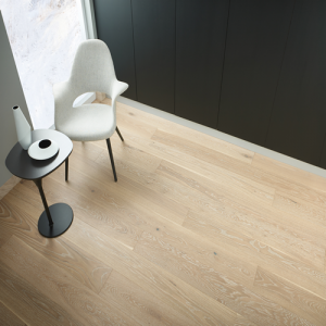 Dreisam Oak Brushed and Lacquered Engineered Wood Flooring