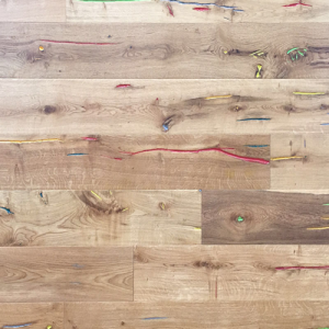 Funky Smooth Lacquered Oak Engineered Wood Flooring 189 x 14/3mm