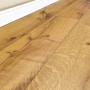 Wide Plank Engineered Rustic Wood Flooring