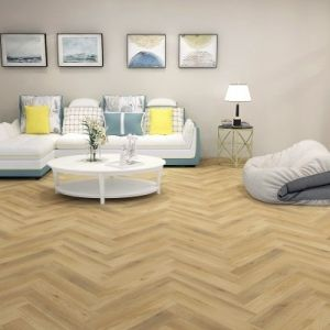 Balento Islands - Baypointe Herringbone - 6mm x 110mm x 620mm - Underlay Attached