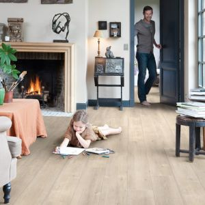 Quick-Step Impressive Ultra IMU1857 Saw Cut Oak Waterproof Laminate Flooring (12mm)