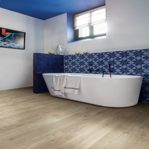 Quickstep Impressive Ultra Soft Oak Light Brown IM3557 Waterproof Laminate Flooring