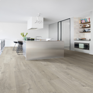 Quickstep Impressive Ultra Soft Oak Grey IMU3558 Waterproof Laminate Flooring