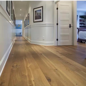Natural Brushed Oiled Oak Engineered Wood Flooring 220 x 14/3mm