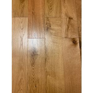 American Smooth Lacquered Walnut Noce Engineered Wood Flooring 150 x 14/3mm