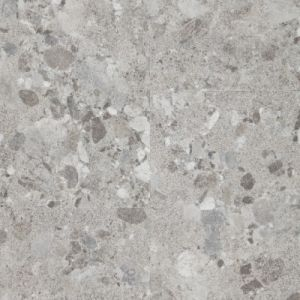 Berryalloc LVT Waterproof Vinyl Flooring Click 55 Terrazzo Light Grey, 5mm x 612mm x 612mm