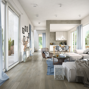 Maltanski Oak Brushed and Lacquered Click Engineered Wood Flooring