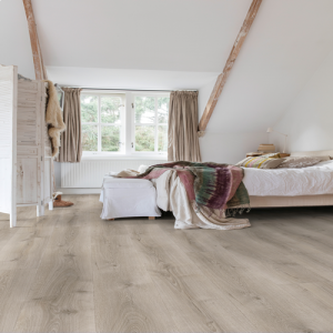 Quickstep Majestic Desert Oak Brushed Grey MJ3552 Laminate Flooring (9.5mm)