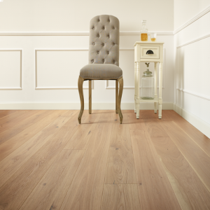Vistula Oak Brushed and Lacquered Engineered Wood Flooring