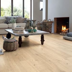 Quick-Step Impressive Ultra Sandblasted Oak Natural IMU1853 Waterproof Laminate Flooring (12mm)