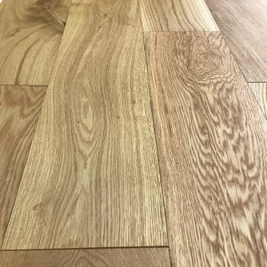 Wide Finsko Brushed Lacquered Oak Engineered Wood Flooring 14/3mm x 180mm