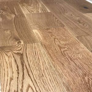 Wide Svedska Smooth Lacquered Oak Engineered Wood Flooring 14/3mm x 180mm