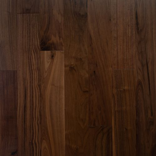 American Walnut Noce Smooth Lacquered, Smooth Laminate Flooring